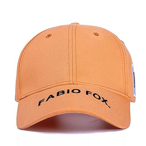 TDPYT Unisex Elegante Gorra de algodón Sombreros para Mujer Moda Fox Bordado Lateral Gorra de béisbol Hombres al Aire Libre Popular Streetwear Gorra Durabilidad Comodidad Informal Regalo para el