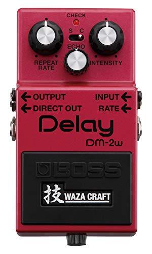 BOSS DM-2W Delay Guitar Pedal, compacto