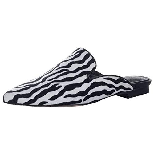 Lydee Mujer Moda Flat Zapatos Verano Animal Print Mules Sandalias