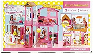 Mattel Barbie Pink Passport 3-Story Townhouse