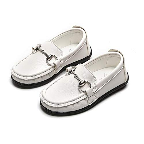 HYDKU Zapatos de Cordones Niños Niñas Zapatos de Cuero for los niños...