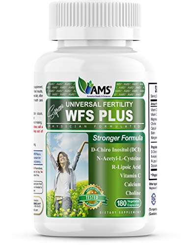 America Medic & Science WFS Plus - Women's Fertility Supplement, Promote Ovulation Function - 180 Count