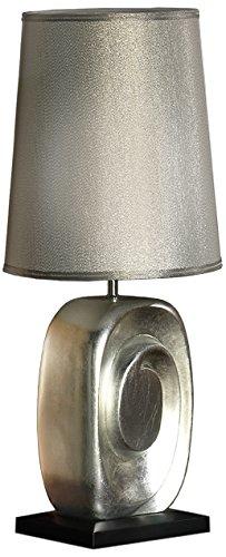 Schuller 471724/7277 Minos tafellamp, laag, 60 cm, zilverkleurig