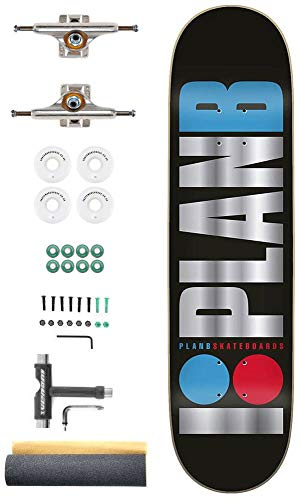 Plan B Team OG Foil Aangepaste Complete Pro Skateboard Kit - 8.0