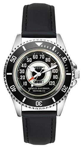Regalo para Harley Davidson Motocicleta Fan Conductor Kiesenberg Reloj L-10018
