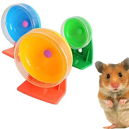 Hamsterrad Hamster Riesenhamster Ball stille Hamsterrad Hamster stille Rad in einem Kugel Spielzeug Zwerghamster Rad 11cm große Hamster Ball zcaqtajro (Size : 14cm)