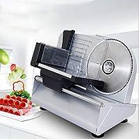 多機能ミートスライサーマシン、ミニ手動冷凍ミートスライサーホーム半自動200W野菜トースト焼きたてのミートスライサー