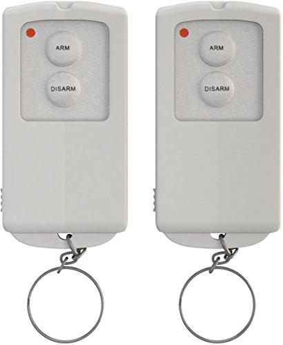 iiquu 510ILSAA009 Home Safety-Sensor Alarm Remote Control, Weiß