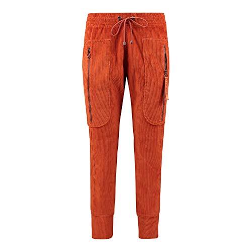 MAC Damen Hose orange 36