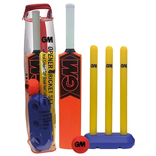 Gunn & Moore Kinder-Cricket-Set mit Öffner, für Kinder von 4–8 Jahren