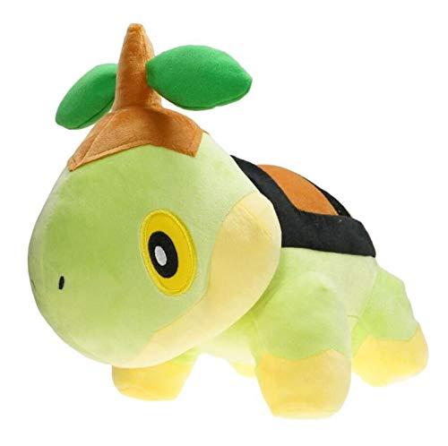 jingru Kawaii Pokemon Turtwig Juguete De Peluche Colección De Pasatiempos Verde Animales De Dibujos Animados Muñeca Almohada Suave Decoración De La Habitación Regalo 30Cm