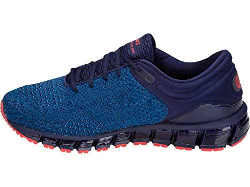 ASICS Men's Gel-Quantum 360 Knit Running Shoes, 9M, Race Blue/Peacoat 2