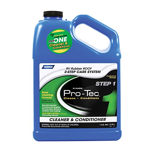 Camco Pro-Tec Rubber Roof Cleaner - Deep Cleansing Formula Rids Dirt...