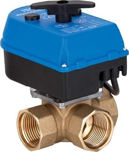 Rotodivert 3-Wege Umschaltventil EMV 110 F3L mit Antribe für Heizung Heizungsanlagen Auswahl-Rotodivert 9004572-DN25