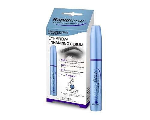 Rapid Brow Eyebrow Enhancing Serum, Beauty Tips Makeup Eyes Eyebrow 0.1 Fl. Oz.(3ml)