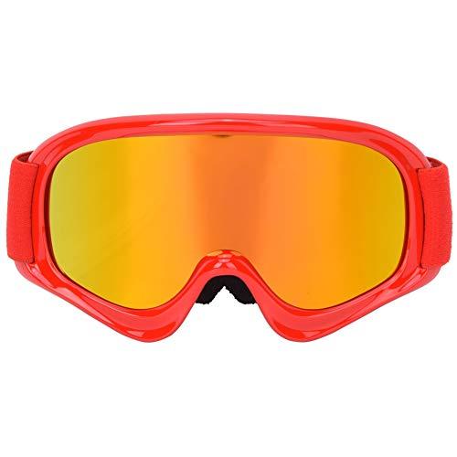 Keenso Kinder-sportbril, skibril, winterbril, anti-condens, anti-slip windmasker op verstelbare riem