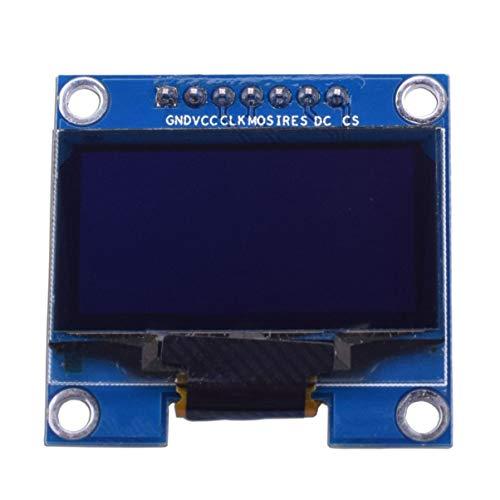 ACEHE 1.3 Inch 7 Pin I2C IIC Serial 128X64 OLED LCD LED Display Module SH1106 for Arduino 51 MSP420 STIM32 SCR SPI OLED Display