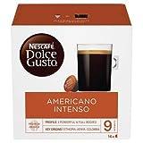 NESCAFÉ Dolce Gusto Grande Intenso   48 Kaffeekapseln   Arabica Bohnen aus Ostafrika und Südamerika   Haselnussbraune Crema   Aromaversiegelte Kapseln   3er Pack (3 x 16 )