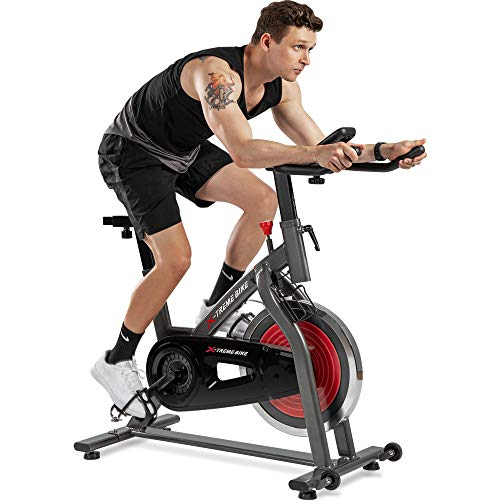 Merax Indoor Exercise Bike - Sta...