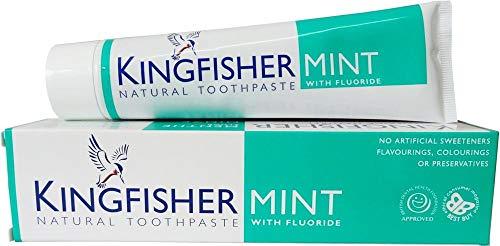 Kingfisher fluoridhaltige Zahnpasta mit Minze 100ml