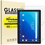 [2 Pack] XunyLyee Screen Protector Compatible with Walmart Onn 10.1 Pro Tablet (Model: 100003562), Tempered Glass Film Only for Onn 10.1 Inch Tablet Pro 2020