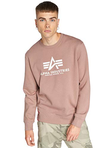 Alpha Industries Basic Sweatshirt Rosa L