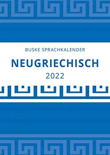 Sprachkalender Neugriechisch 2022