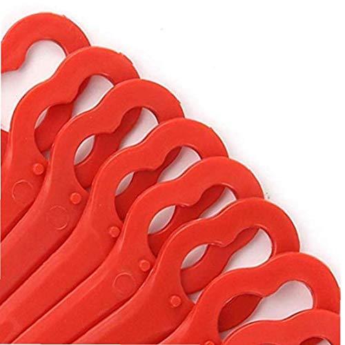 Cortadora de césped de hierba-cortador de cuchillas de plástico de corte para Stihl PolyCut 2-2 Jardín 4008 1000 cambio de herramientas, 100pcs