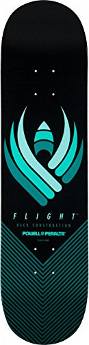 Powell Peralta Flight Skateboard Deck Form 24321cm, schwarz