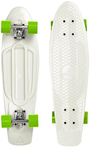 Ridge Skateboard Big Brother Nickel 69 cm Mini Cruiser, Glow/grün