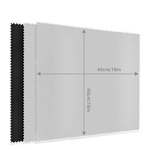 """MOSSLIAN Paños Microfibra para TV,Parabrisas,Tabletas,Pantallas de LCD,16"""" 3P"""