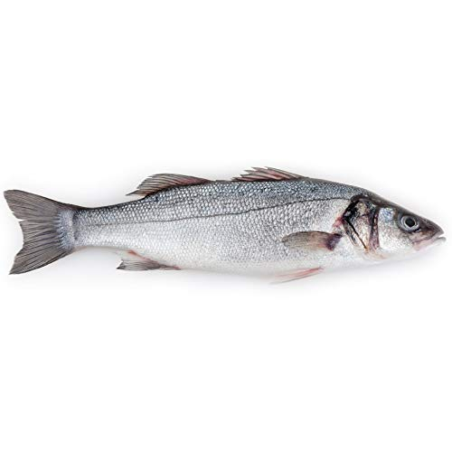 Branzino by Ideal Fish Mediterranean Sea Bass, Fresh Whole Fish...