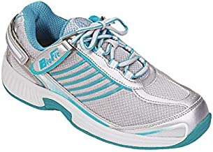 Orthofeet Proven Plantar Fasciitis and Foot Relief. Extended Widths. Bunions Orthopedic Walking Shoes Diabetic Arch Support Women's Sneakers, Verve Turquoise