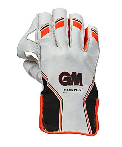 GM Unisex Mana Plus Handschuhe für Wicketkeeper pad2018, orange, groß