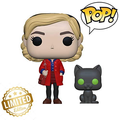 For Sale! 38866 Pop! & Buddy: Chilling Adventuressabrina with Salem, Multicolor 💛Limited Edition