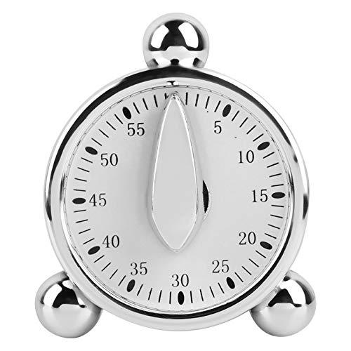 Temporizador de cocina, 60 minutos para cocinar, hornear, cocinar al vapor, recordatorios, reloj despertador, temporizador manual para uso médico, hogar