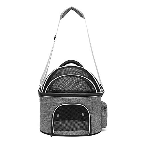 lirong Pet Carrier Cat Carrier, Soft-Sided Kennel, Collapsible, for Travel Handbag Car Seat for Cats, Small Dogs, Puppies and Small Animal