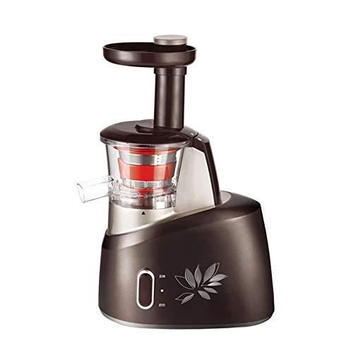 Adesign Máquina de expresión de la Boca Amplia del exprimidor, exprimidores de Frutas y Verduras Enteras, Extractor de Jugo poderoso fácil de Limpiar y BPA Gratis