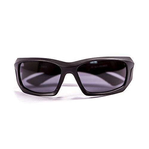 Ocean Sunglasses Antigua - Gafas de Sol polarizadas - Montura : Negro Mate - Lentes : Ahumadas (3300.0)