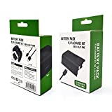 🎮 Design for Xbox Series S and Series X controller. 🎮 Recharge battery while you continue to play. 🎮 High performance NiMH rechargeable batteries LED charge indicators 🎮 Charged by USB cable via your XBOX Series X/S or other USB device 🎮 Packing Incl...