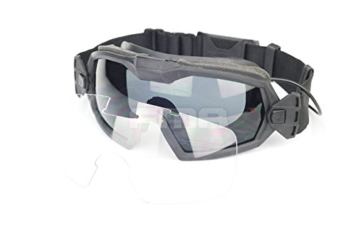 FMA Schutzbrille Mod.2 mit eingebauten Anti-Beschlag Ventilator