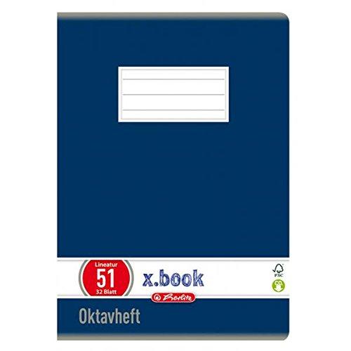 herlitz Oktavheft x.book
