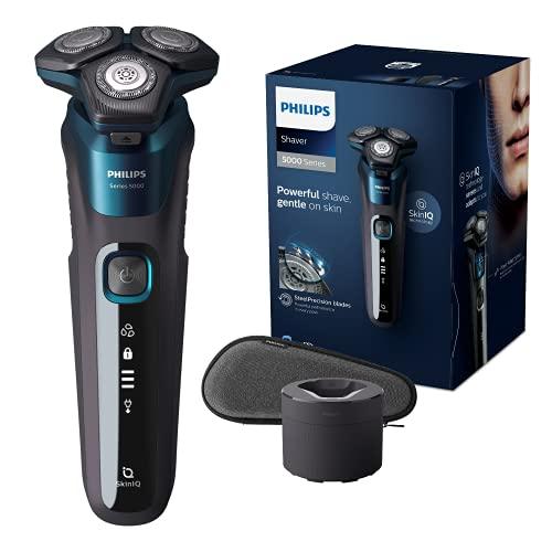 Philips Shaver Series 5000 Wet & Dry S5579/50 Afeitadora eléctrica para uso en seco y húmedo para hombres