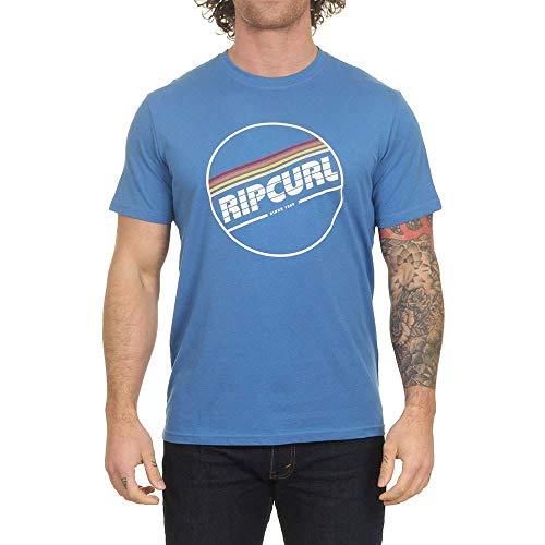 Rip Curl Yo Mama - Camiseta de manga corta Azul Estrella Azul M