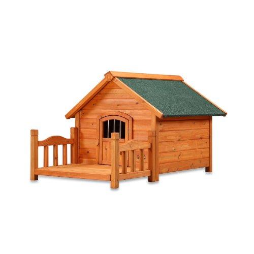 Pet Squeak Porch Pups Dog House, Medium