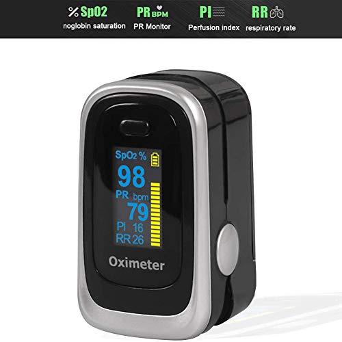 MSHK Fingerpulsoximeter LED Display Pulsoxymeter Medizinischer Finger-Pulsoximeter Mit OLED-Display (Sauerstoffmessgerät),C