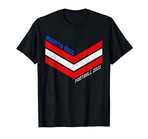 Camisola de futbol de Puerto Rico 2021 Futbol de Puerto Rico Camiseta