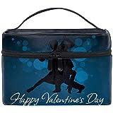 化粧ポーチ 仕分け収納 クロッカスの花葉プリムローズ防水 軽量 大容量 通勤 出張 旅行用
