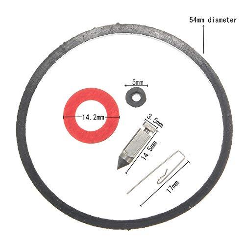 5 Stks Carburateur Reparatie Kits Naald en Stoel Bowl Pakking voor Tecumseh 631021A & B