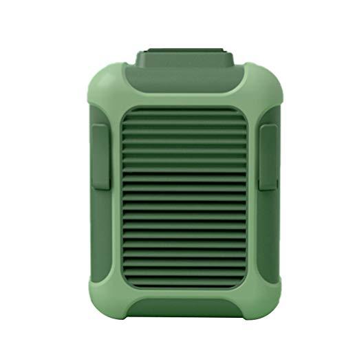 WSTERAO Mini Ventilador, Enfriador de Cintura, Mini Ventilador USB, Ventilador de Mano portátil con 18 Horas de Funcionamiento, Ventilador de Cintura Colgante para Trabajadores al Aire Libre